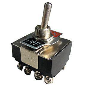 Vypínač páčkový ON-OFF 4pol.250V/10A