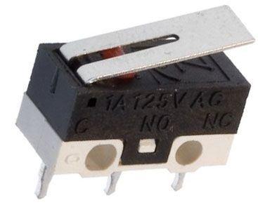 Mikrospínač ON-ON 1pol.125V/1A s páčkou (DM-101P303)