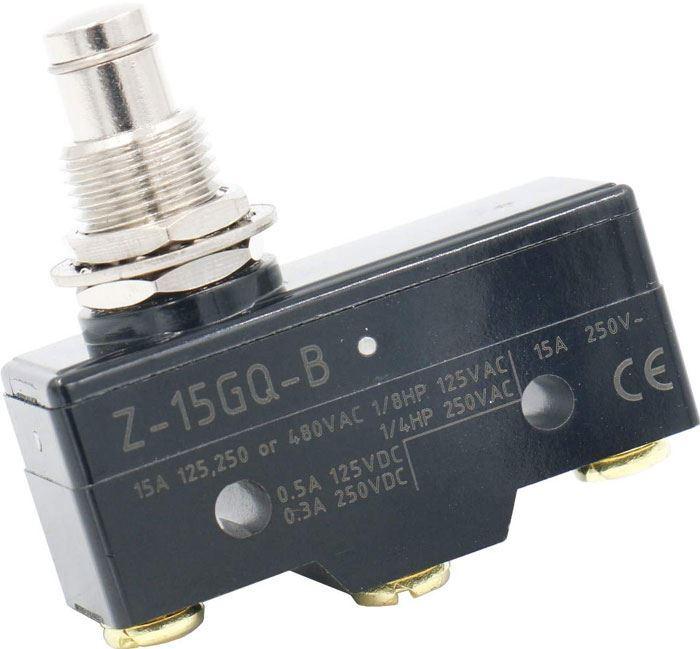 Mikrospínač Z-15GQ-B 250VAC/15A
