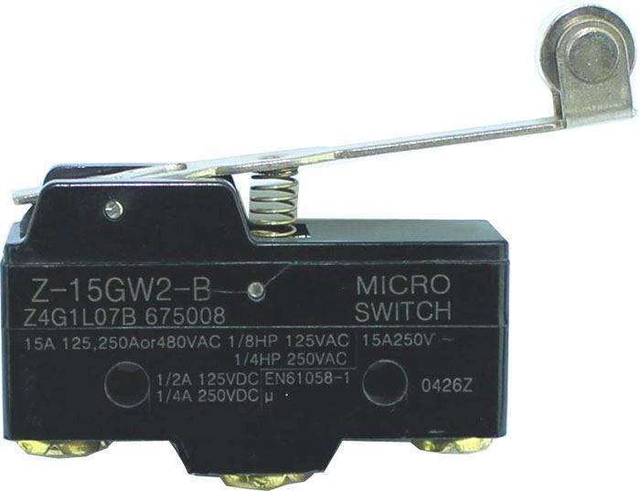 Mikrospínač Z-15GW2-B 250VAC/15A