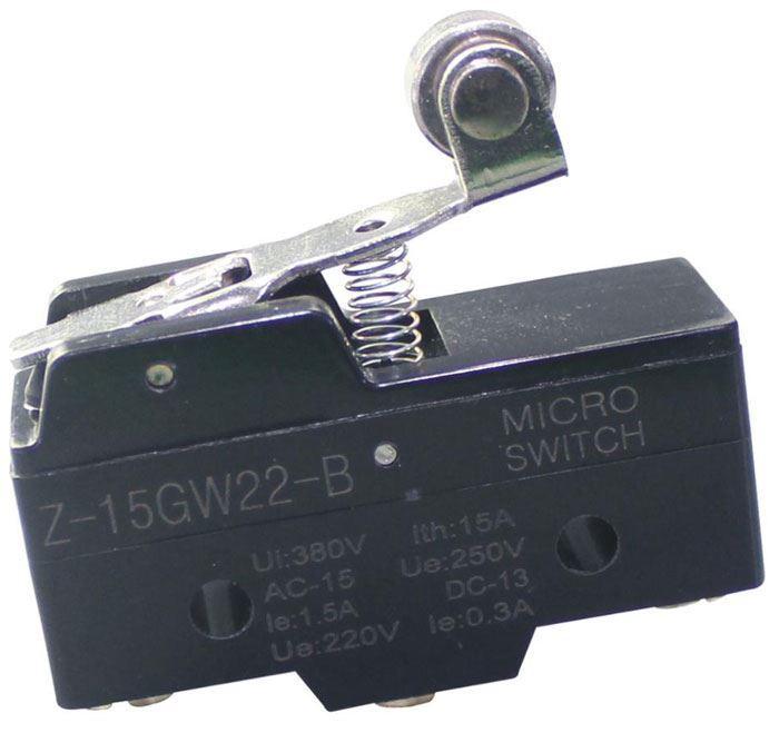 Mikrospínač Z-15GW22-B 250VAC/15A
