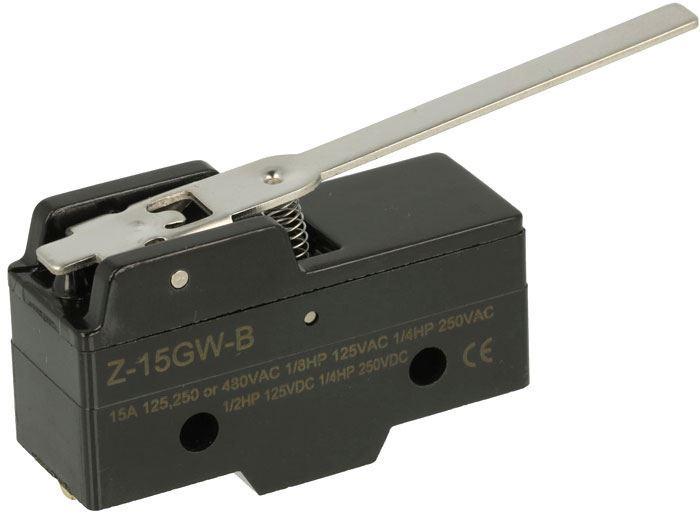 Mikrospínač Z-15GW-B 250VAC/15A
