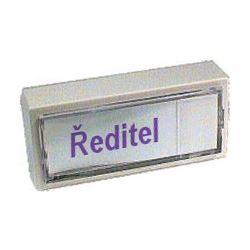 Zvonkové tlačítko ZT1 (hmatník zboku)   3177-80129