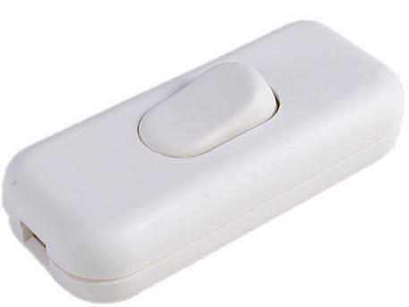 Vypínač mezišňůrový DS-5, 250V/2,5A bílý