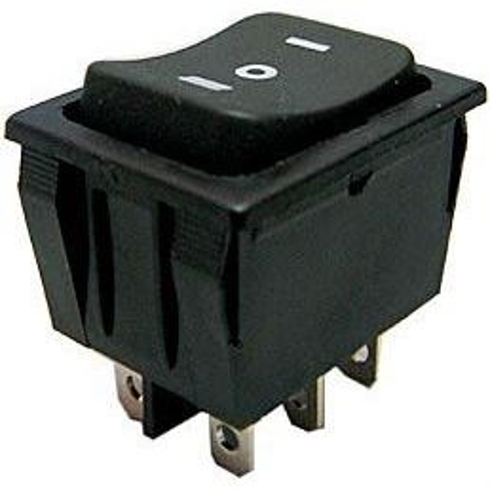 Přepínač kolébkový ON-OFF-ON 2p.250V/15A I-O-II