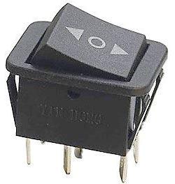 Přepínač kolébkový ON-OFF-ON 2p.250V/15A < O >
