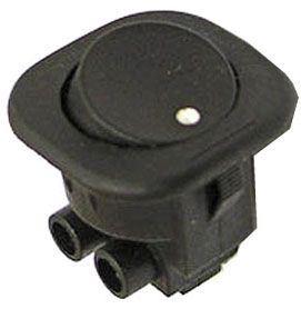 Vypínač kolébkový RS-101-7C, OFF-ON 1pol.250V/6A černý