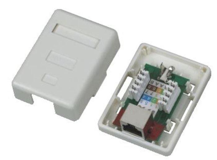 Síťová zásuvka RJ45 na omítku Datacom