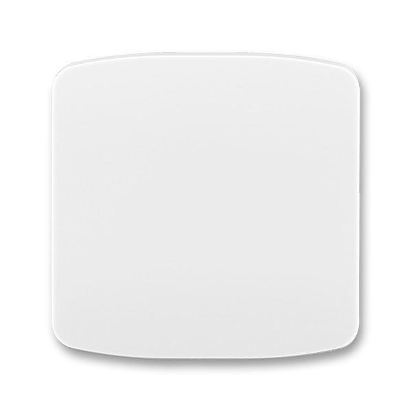 3558A-A651 B Kryt spínače jednoduchý, bílá, ABB Tango