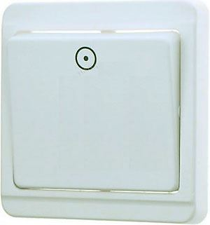 Tlačítko OFF-(ON) pod omítku STANDARD 4FN57512 bílé