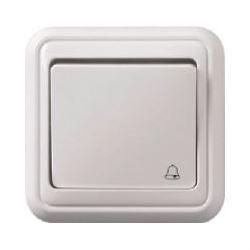 Tlačítko OFF-(ON) zvonkové na omítku PANELÁK, bílé
