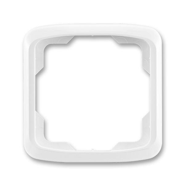 3901A-B10 B Rámeček jednonásobný, bílá, ABB Tango