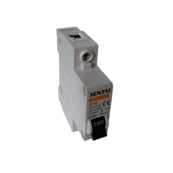 Jistič DZ47 230V/10A/C 1fázový na DIN lištu