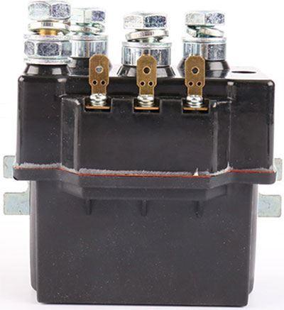 Stykač 12V/100A (špičk.700A) ZJWTP100 pro navijáky automobilů