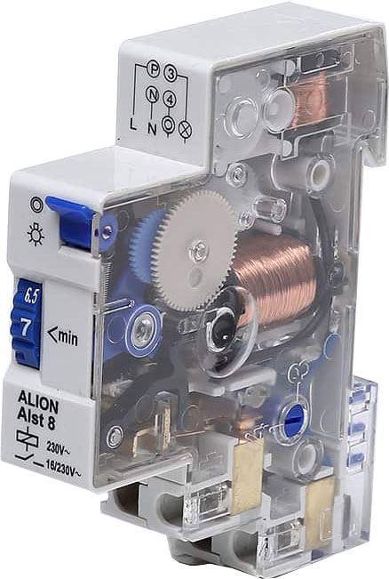 Schodišťový automat ALST8, doba sepnutí 1-7min