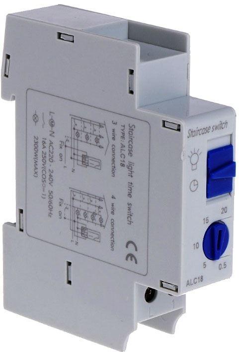 Schodišťový automat ALC18, doba sepnutí 0,5-20min