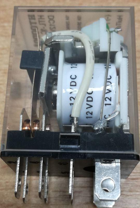Relé HTL-1C 12V 1x přepínací kontakt 230VAC/10A