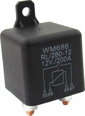 Relé auto RL/280-12 12V/200A