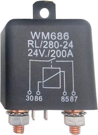 Relé auto RL/280-24 24V/200A