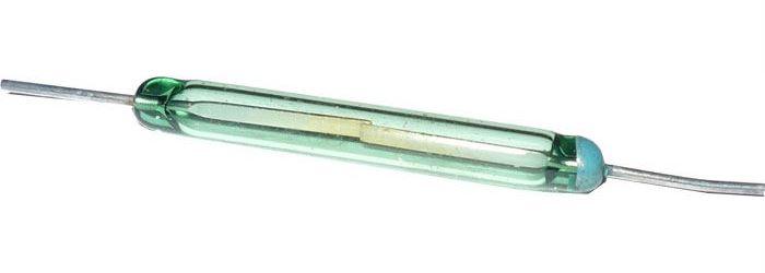 Jazýčkový magnetický kontakt 2x14mm