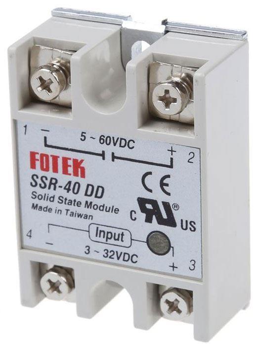 Bezkontaktní relé SSR-40DD  5-200VDC