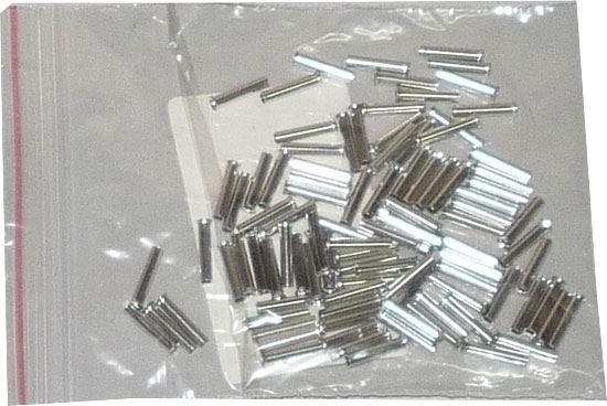 Dutinka pro kabel 1mm2 celokovová (EN1010), balení 100ks