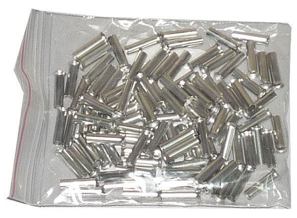 Dutinka pro kabel 2,5mm2 celokovová (EN2512), balení 100ks
