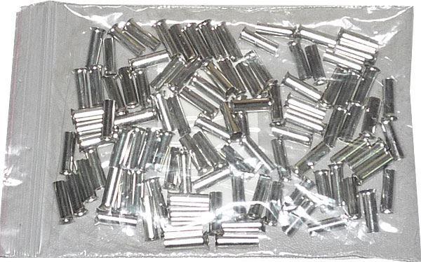 Dutinka pro kabel 6mm2 celokovová (EN6012), balení 100ks