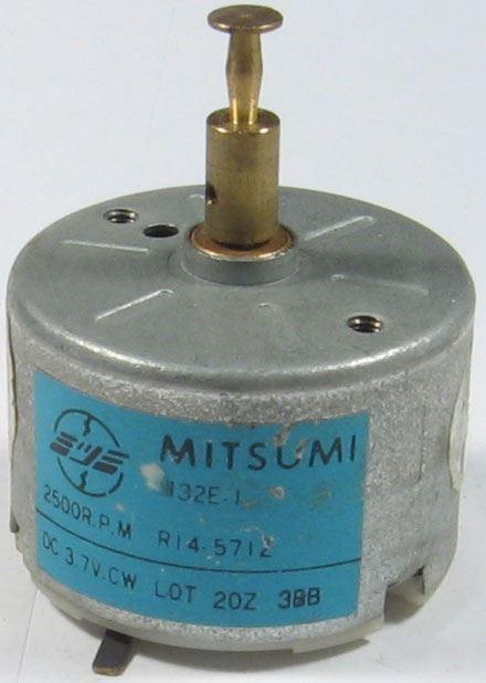 Motorek Mitsumi M32E-1 pravotočivý 3,7V