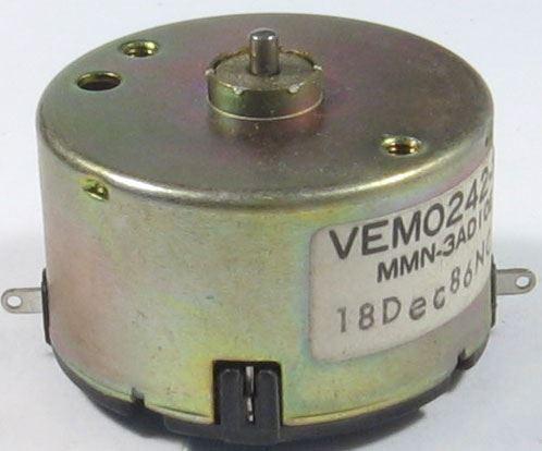 Motorek Matsushita VEMO242-1 pravotočivý 13V