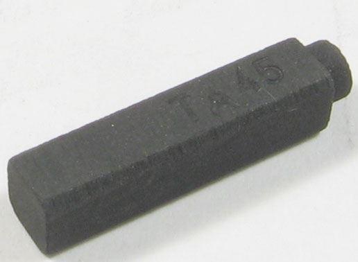 Uhlík 5x4x20mm bez pružiny