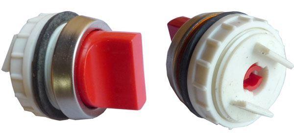 Ovládací hlavice T6B červená