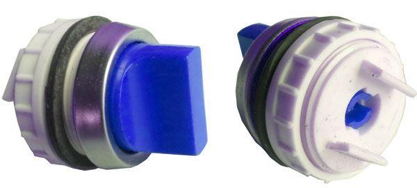 Ovládací hlavice T6B modrá