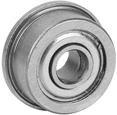 Kuličkové ložisko s osazením MF105ZZ, 10x4mm na hřídel 5mm