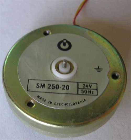 Motorek SM250-20 24V~