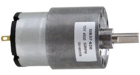 Motorek GB37 12V s převodovkou, 320RPM