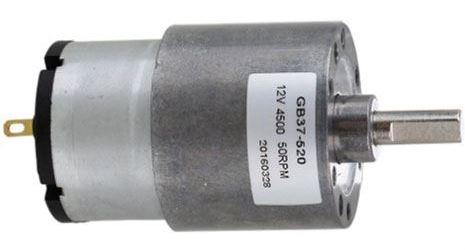 Motorek GB37 12V s převodovkou, 107RPM