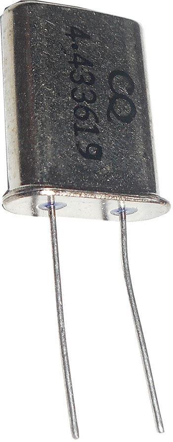 Krystal 4,433619MHz HC-49/U