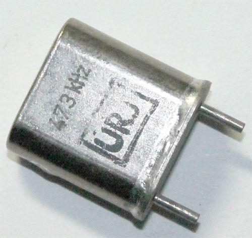 Krystal 473kHz HC-33