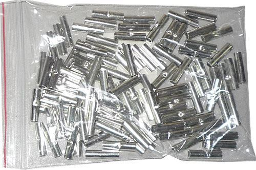 Spojka lisovací pro kabel 0,5-1mm2, (BN1,25), balení 100ks