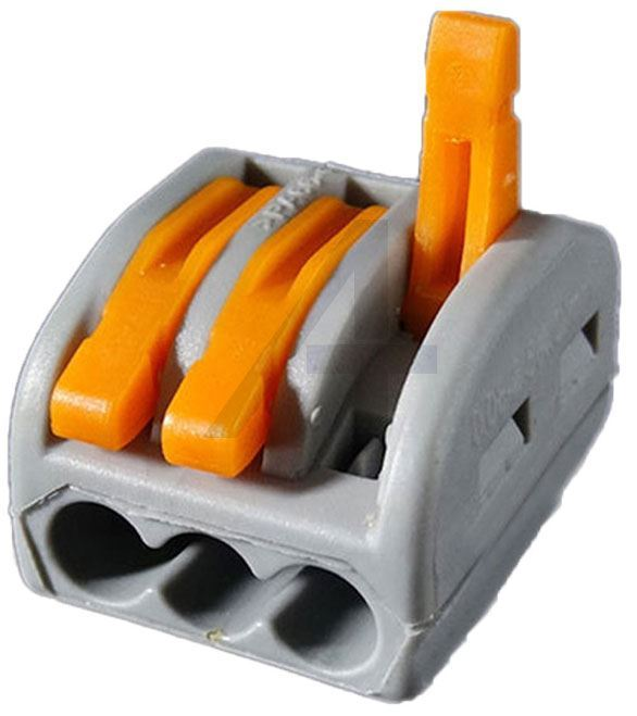Rychlospojka PTC-213 se svorkou pro kabely 0,75-2,5mm2