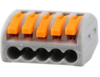 Rychlospojka PCT-215 se svorkou pro kabely 0,75-2,5mm2
