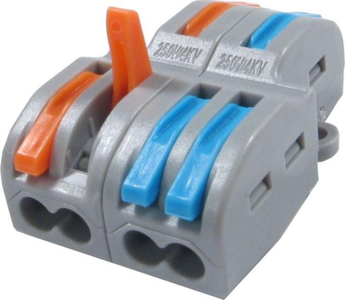 Rychlospojka FD-12A+FD12T se svorkou pro kabely 0,75-2,5mm2