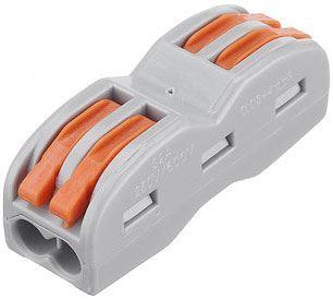 Rychlospojka SPL-2 se svorkou pro kabely 0,75-2,5mm2