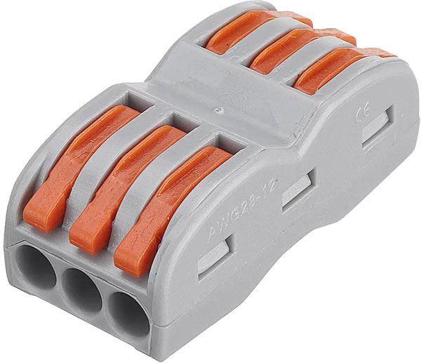 Rychlospojka SPL-3 se svorkou pro kabely 0,75-2,5mm2