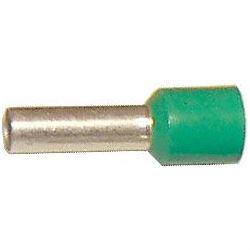 Dutinka pro kabel 6mm2 zelená (E6018)