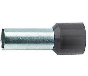 Dutinka pro kabel 6mm2 černá (E6012)