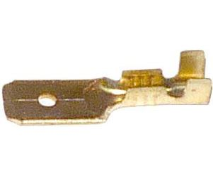 Faston-konektor 6,3mm neizolovaný, kabel do 1,5mm2