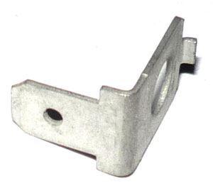 Faston-konektor 4,8mm s dírou 4mm, úhlový-90°