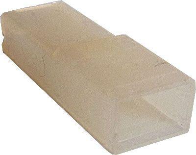 Krytka izolační na faston 6,3mm STOCKO EH681 čirá
